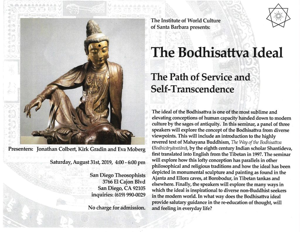 Presentation on the Bodhisattva Ideal